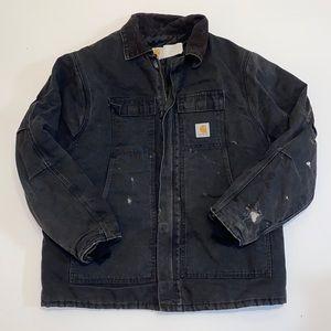 Thrashed Carhartt work coat